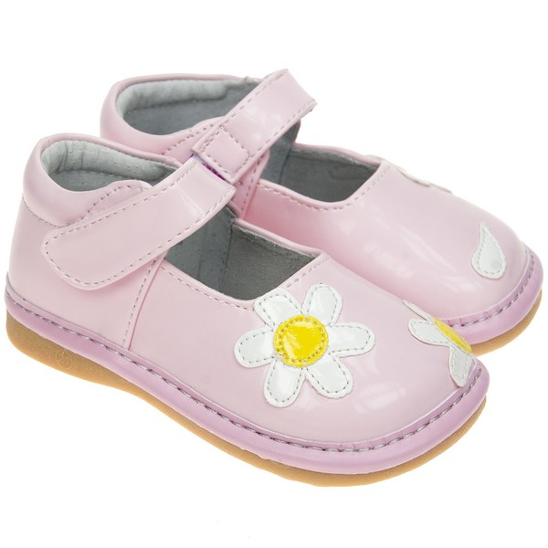 toddler childrens faux leather squeaky shoes patent