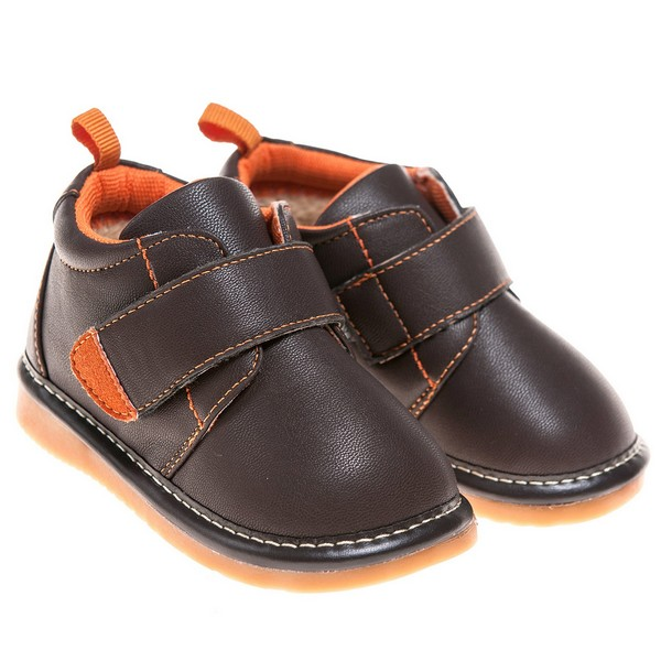 Squeaky Faux Leather Shoes
