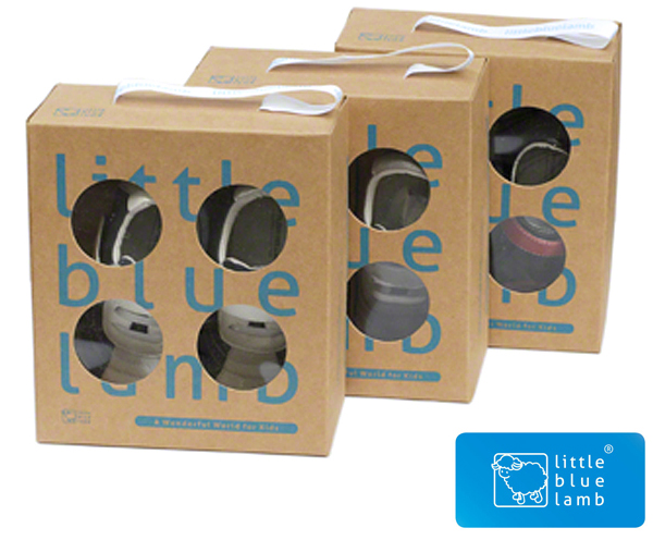Little Blue Lamb Toddler Shoes Box
