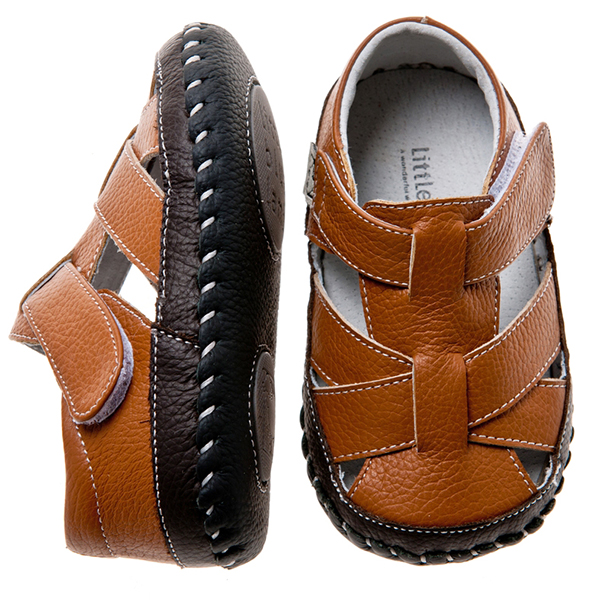 blue boys toddler leather soft sole baby shoes
